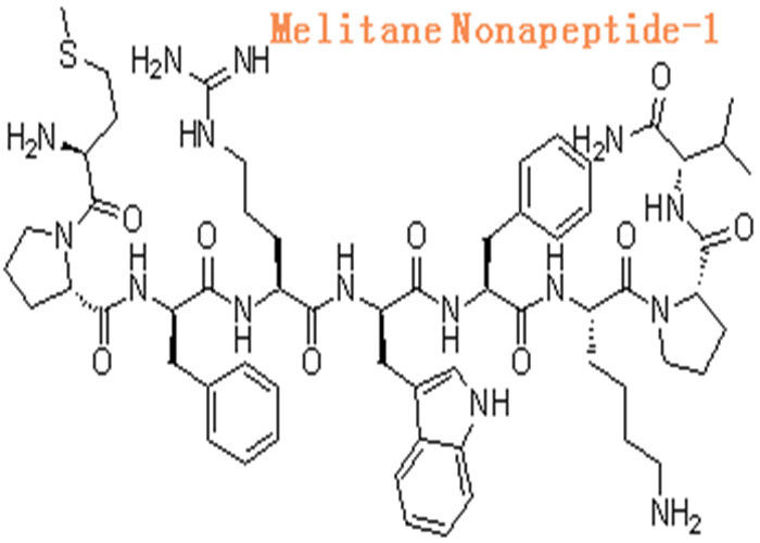 158563 45 2 Cosmetic Raw Materials Melanostatine Nonapeptide 1 Beauty Peptide